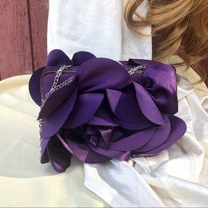 Sondra Roberts Purple evening bag Like new!